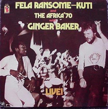 Fela Anikulapo Kuti e Peter Edward Baker